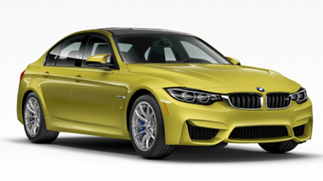 New BMW M3 in