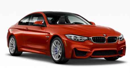 New BMW M4 in