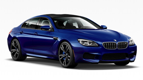 New BMW M6 in