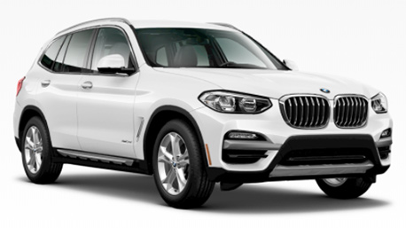 New BMW X3 in