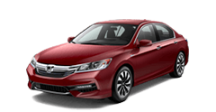 New Honda Accord Hybrid in