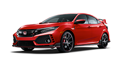 New Honda Civic Type R in